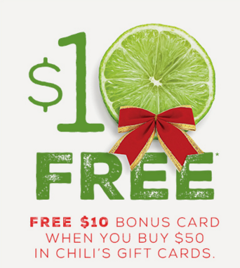 Chilis Gift Card Discount
