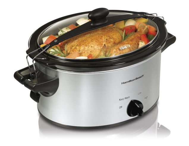 Price Drop Hamilton Beach 4 Qt Stay Or Go Slow Cooker