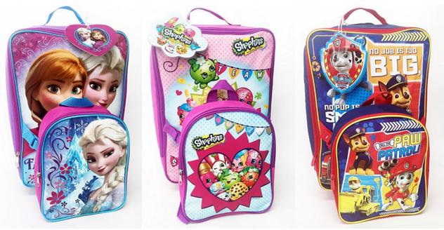 kids luggage sets