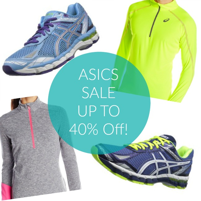 40% Off Asics Shoes and Apparel – TODAY Only!