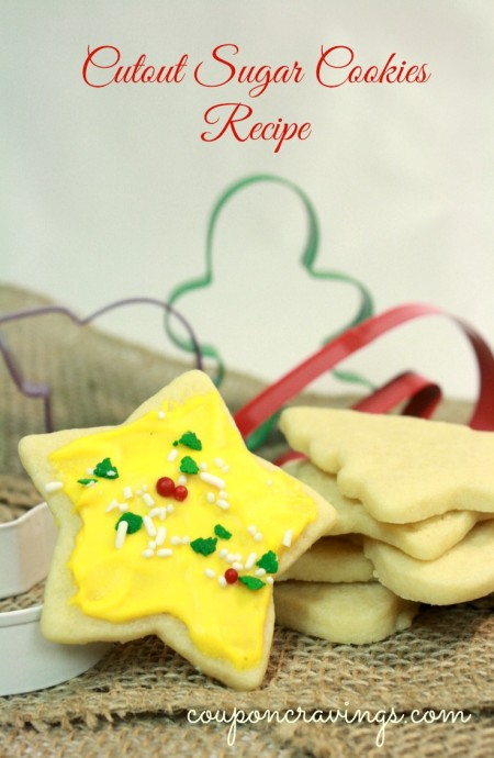 Christmas Cookies Recipes: Easy Cutout Christmas Cookies