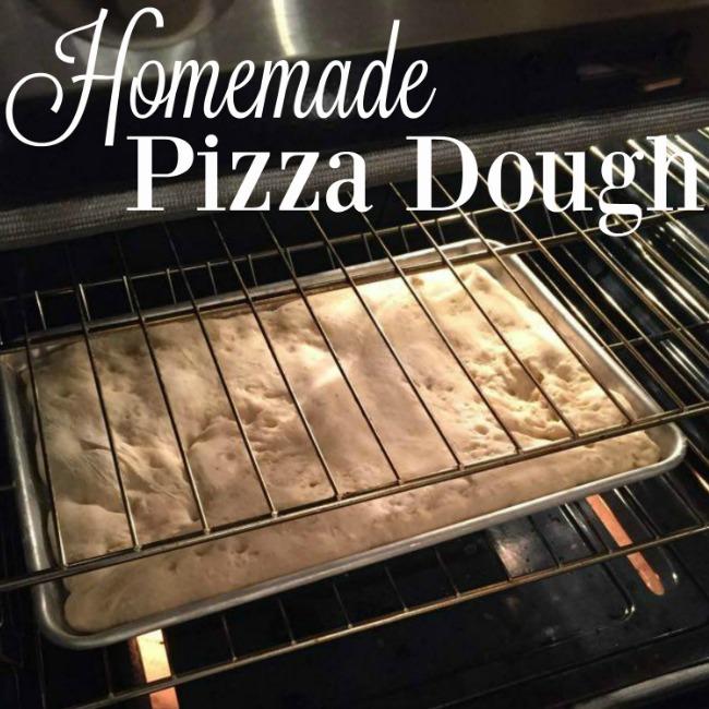 easy homemade pizza dough dinner recipe