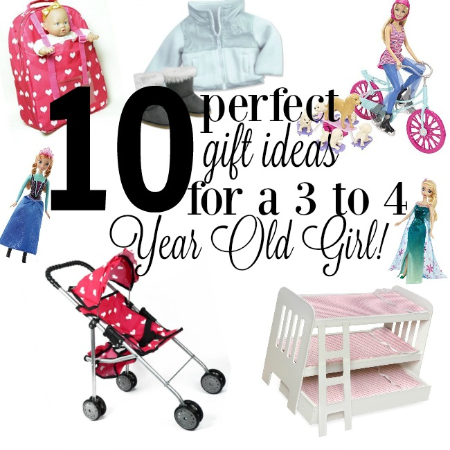 Gift Ideas for a Three or Four Year Old Girl