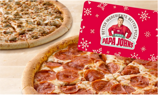 BACK IN STOCK! Papa John's Groupon: $25 for a $25 Voucher and Two FREE Pizzas ($55 value)