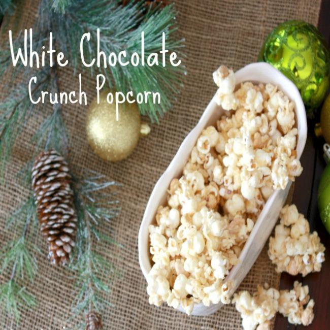 White Chocolate Popcorn Crunch Recipe