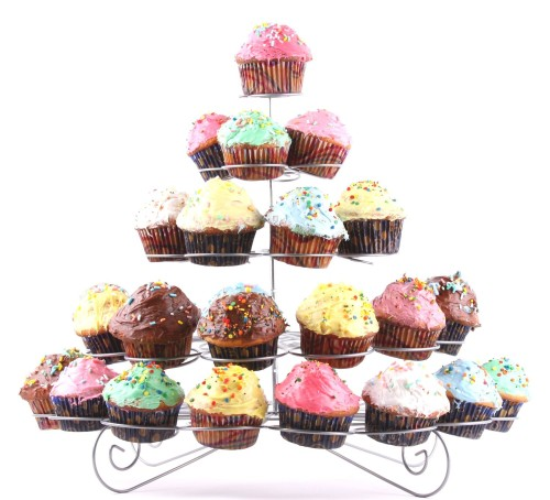 41-Cupcake Metal Dessert and Cupcake Stand, Less Than $12!