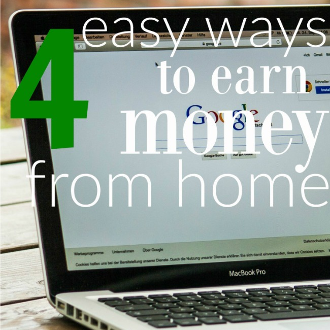 Make money online with these four easy options. My favorite is Mystery Shopping, a simple way to make up to $100 extra per week.  And, over five of the top survey companies to earn cash online, too. http://couponcravings.com/