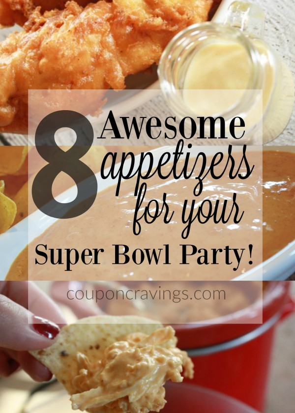 8 super bowl recipes that will rock any party for Super bowl appetizers pinterest