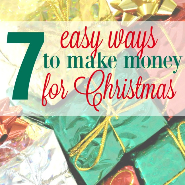 Make Extra Money for Christmas
