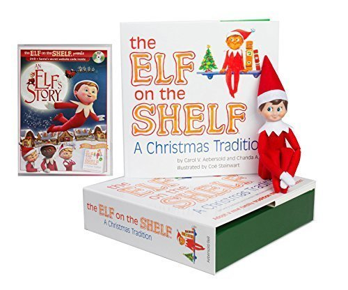 The Elf on the Shelf with bonus DVD