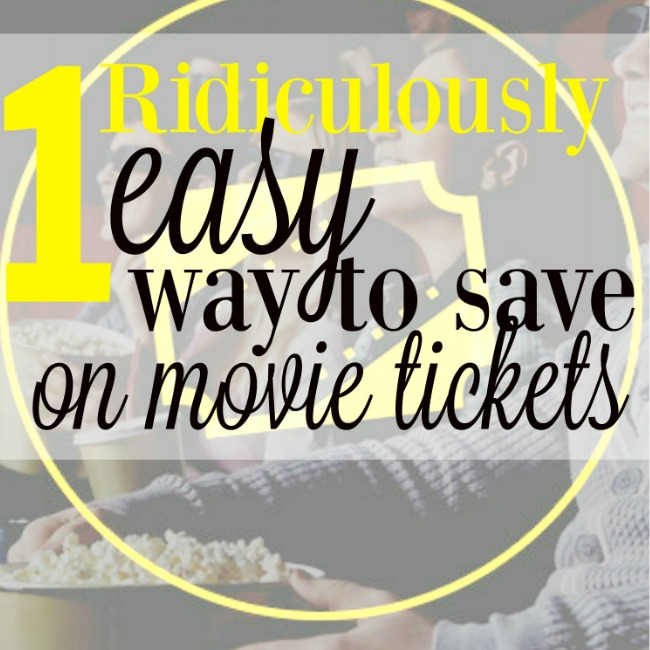 Buy cheap movie tickets on sale this one crazy ridiculously way. And, get a free movie theater popcorn, too. http://couponcravings.com