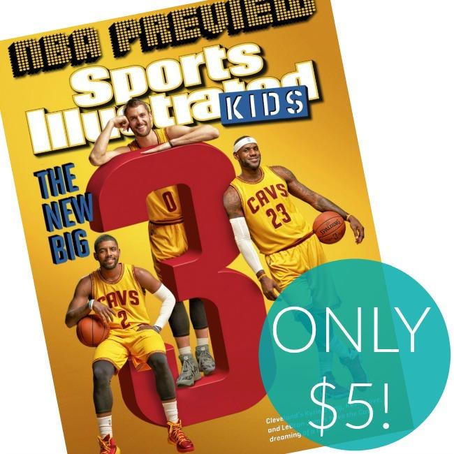 Kids Sports Illustrated Magazine Subscription on Sale!