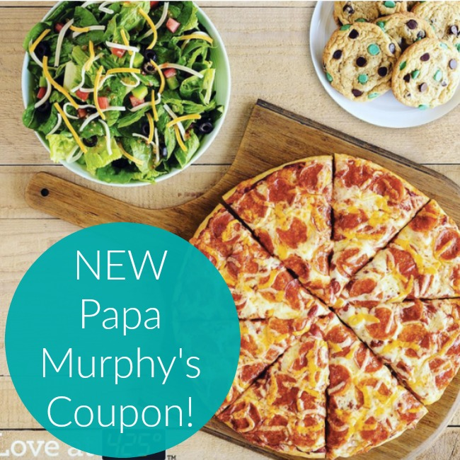 Papa Murphy's Pizza Coupons: Family Size 2-Topping Pizza ONLY $8!