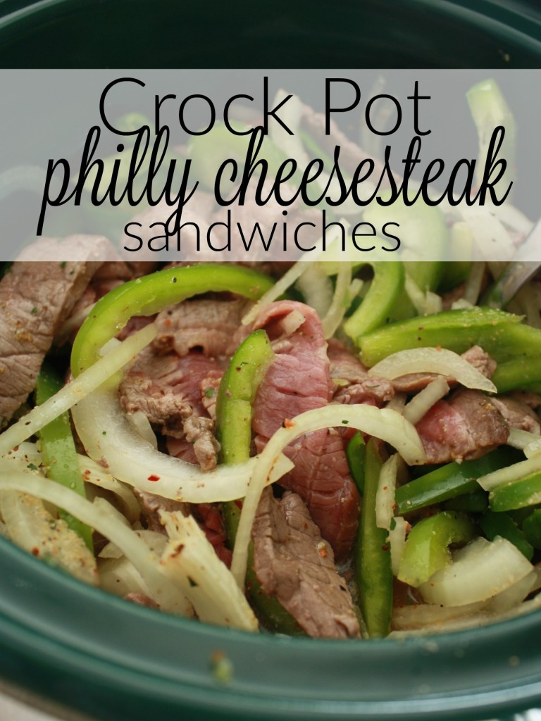 Easy dinner on the docket for you this week? Try this philly cheese steak crock pot recipe - sandwiches are simple, and since this recipe does the cooking for you, dinner will be done when you arrive home or get done with your errands. Perfect! https://couponcravings.com/dinner