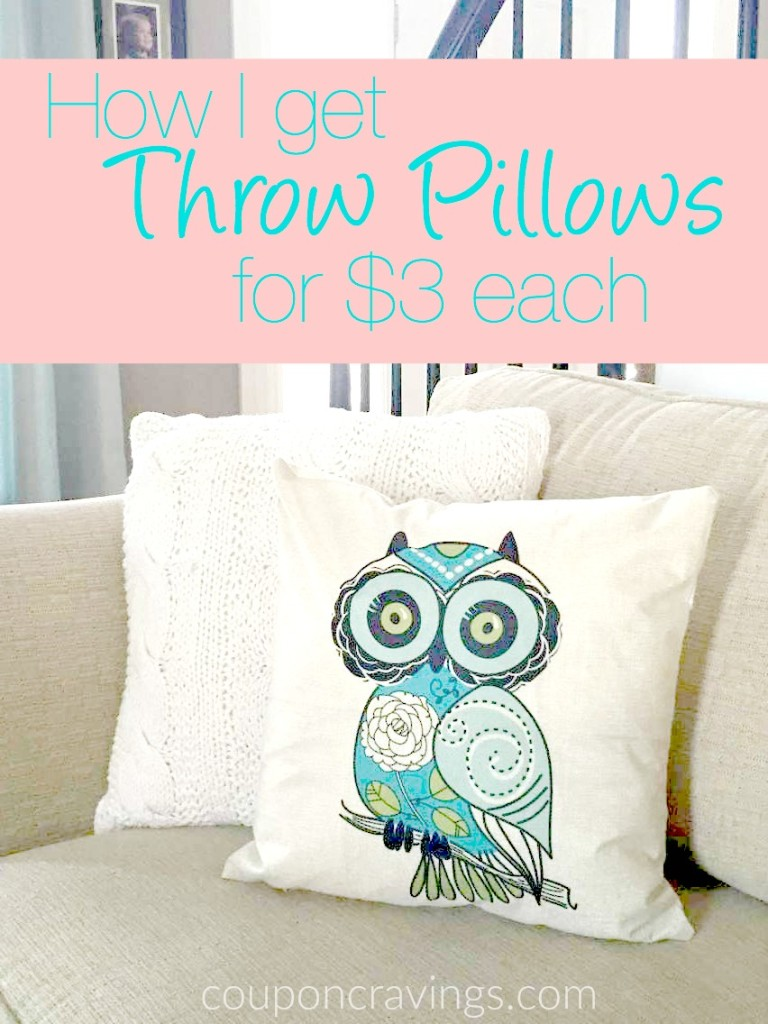 Inexpensive Throw Pillow Covers : Adorable Pillow Covers on Sale for Less Than $3 Each!