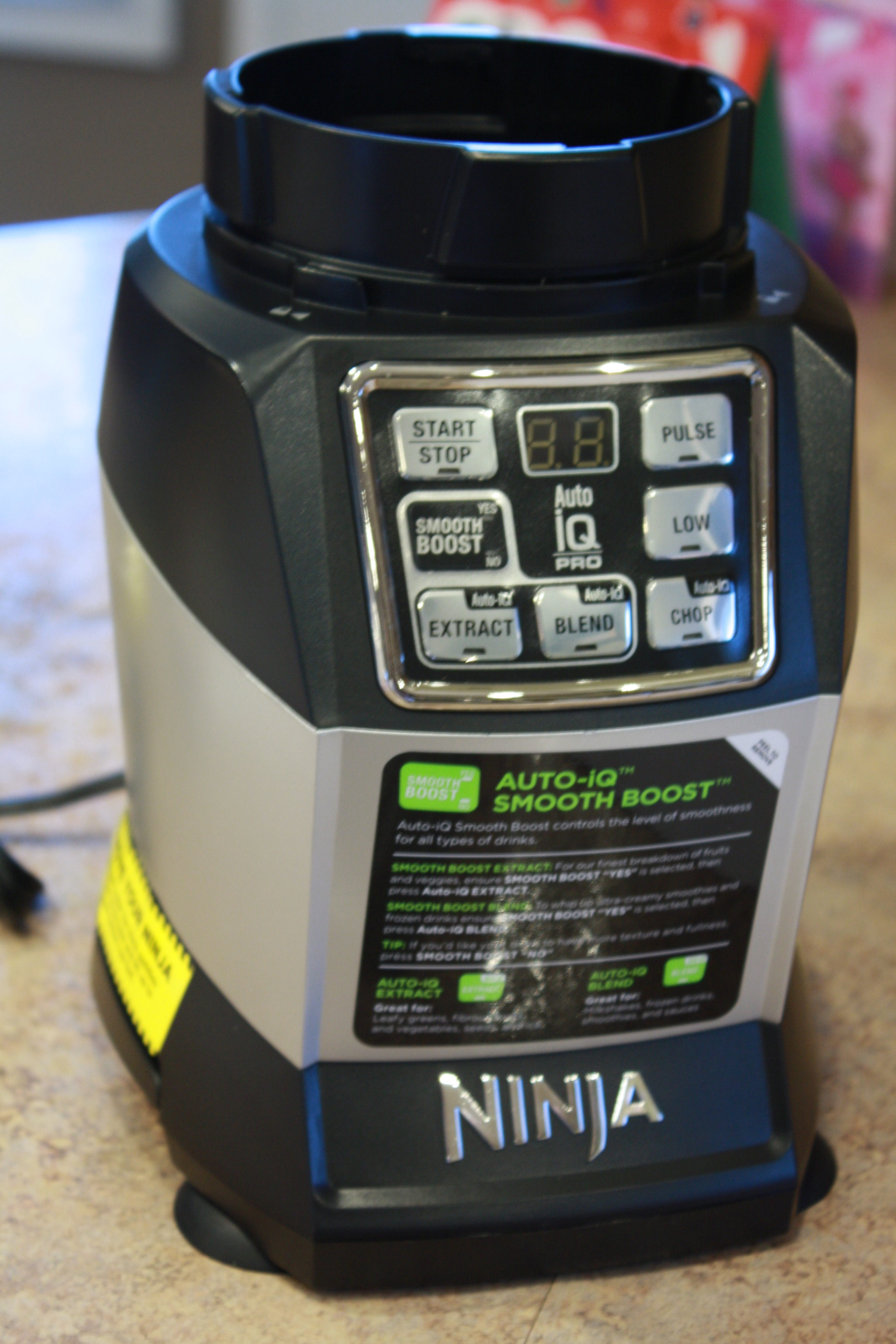 Auto-IQ Compact System Ninja Blender Review & Recipes