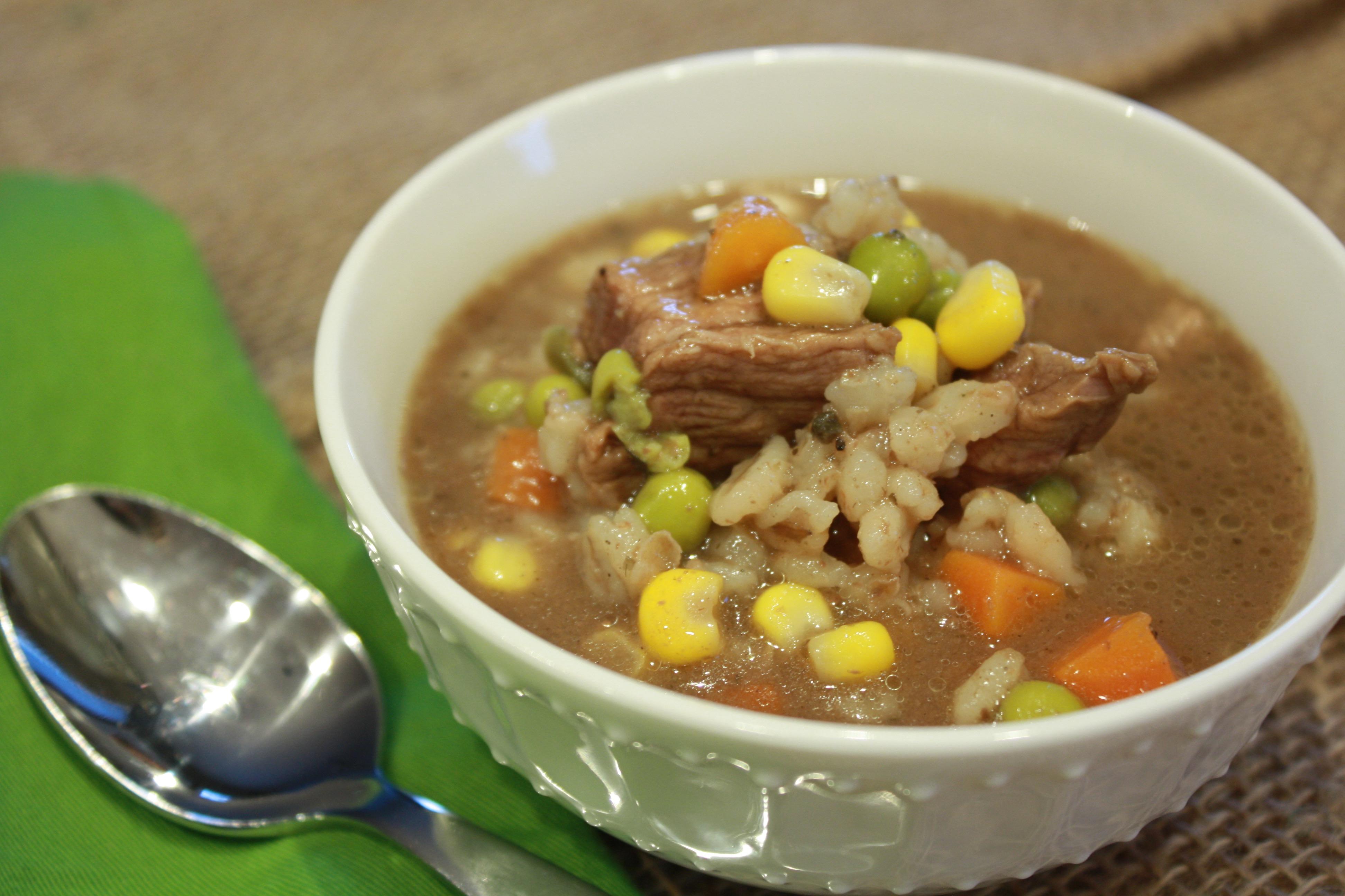 Crockpot Beef Barley Soup Recipe