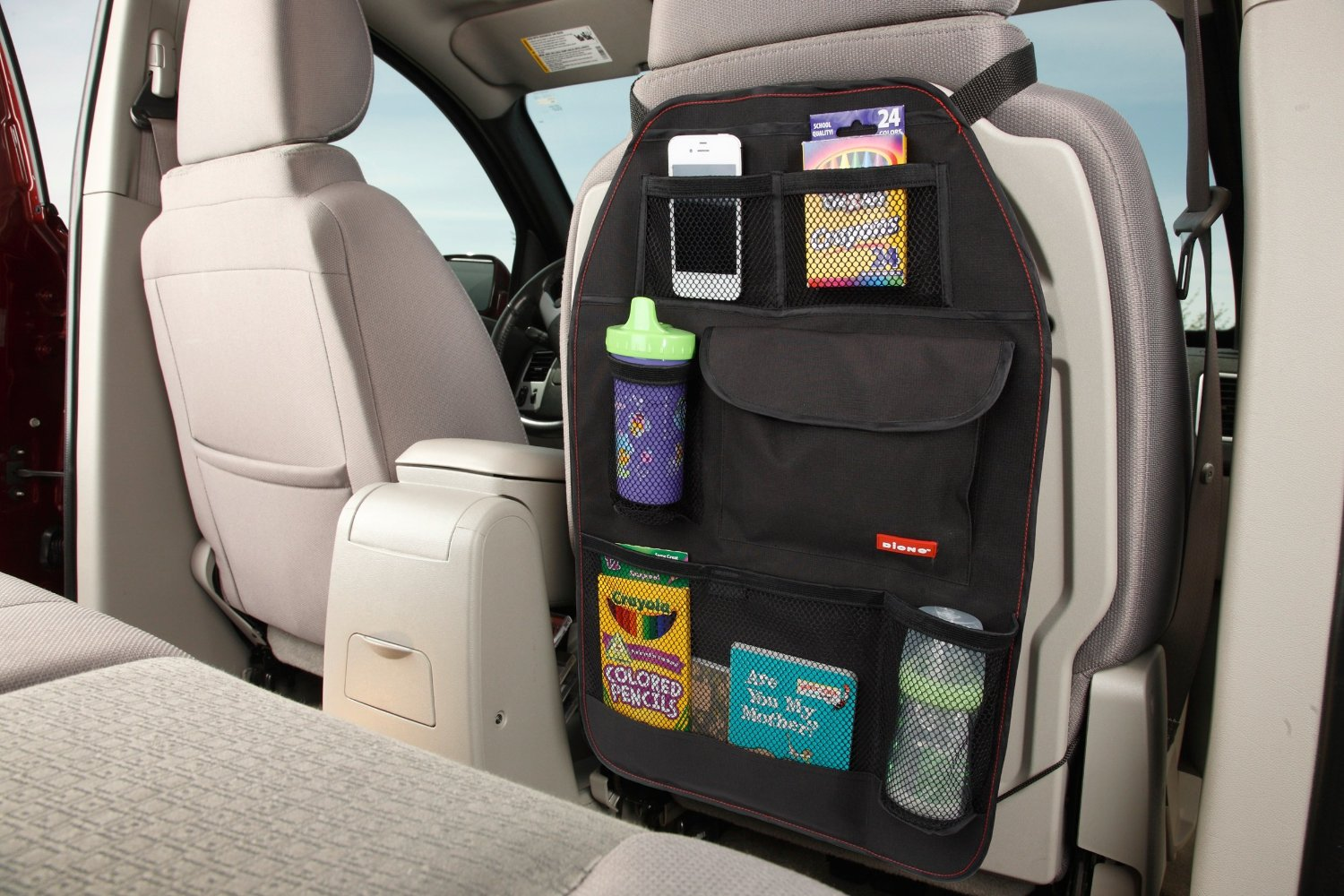 Diono Stow N Go Highly Rated Back Seat Organizer Less