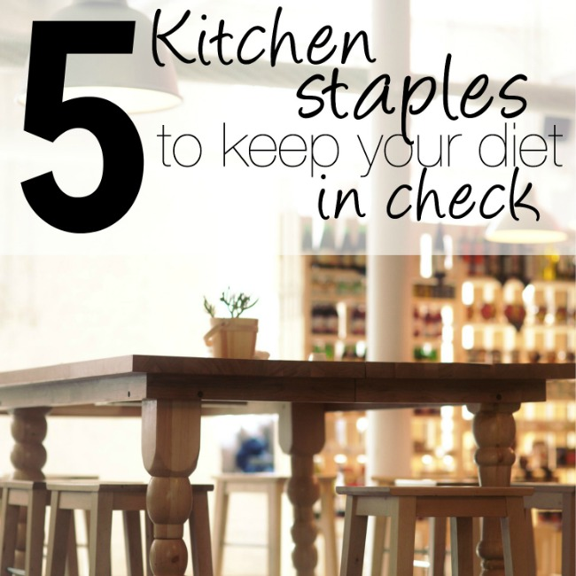 These five kitchen staples for eating healthier are SO awesome! Lose 5 pounds by just using the first one! And, they're all marked down in price right now, too! http://couponcravings.com