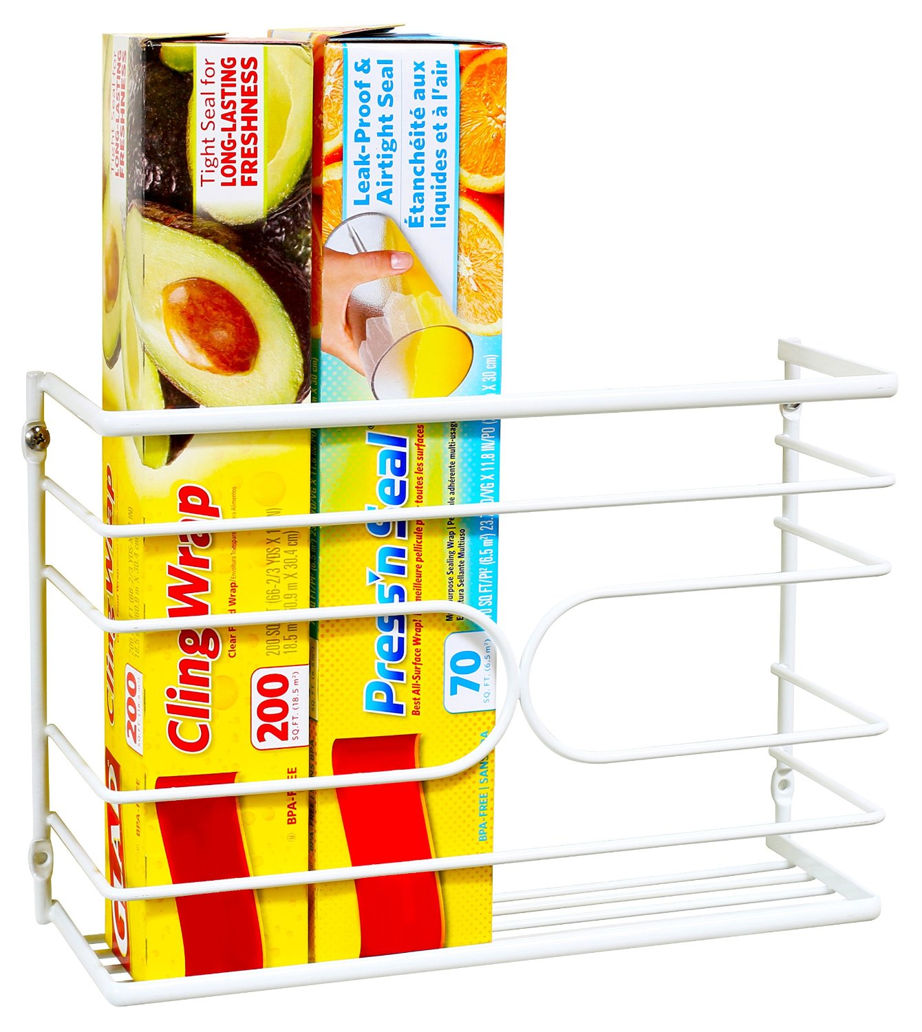 Kitchen Wrap Rack Organizer, on Sale!