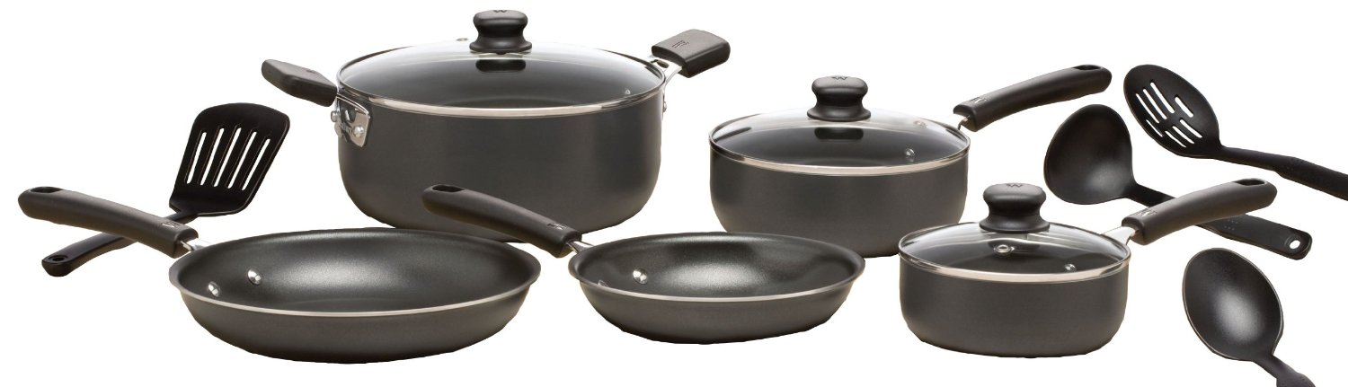 12-Piece Cookware Set on Sale, less than $35!