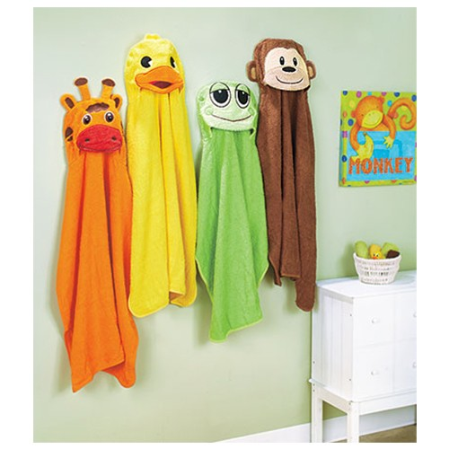 cotton animal towels