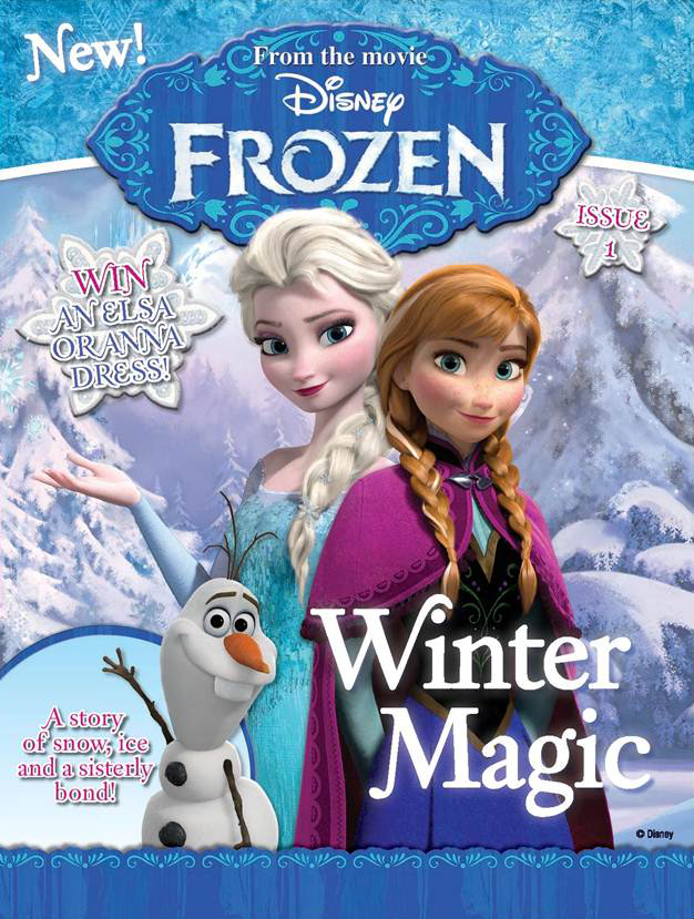 disney frozen magazine for girls on sale