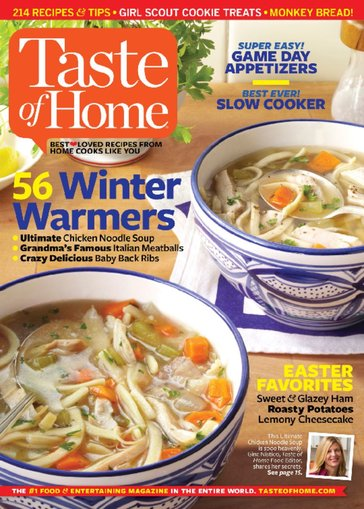 Taste of Home, ONLY $0.83/Issue!