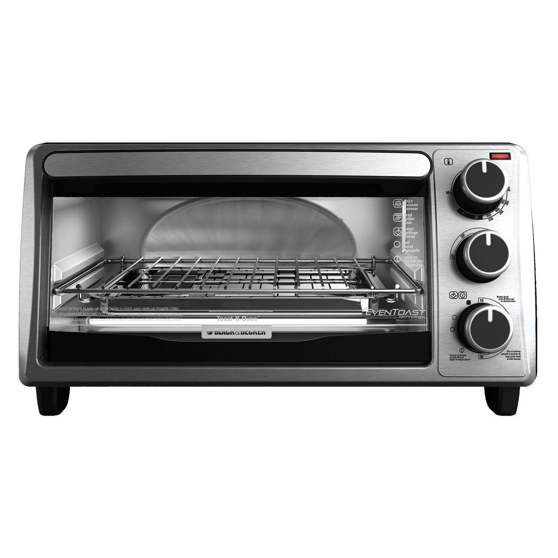Black & Decker 4-Slice Toaster Oven at Best Price