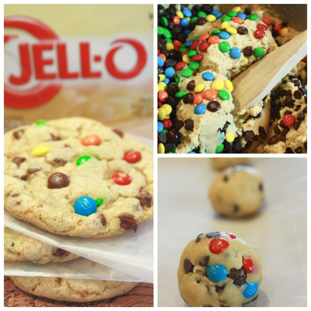 Mini M&M's and Chocolate Chip Cookies Recipe with a Secret Ingredient