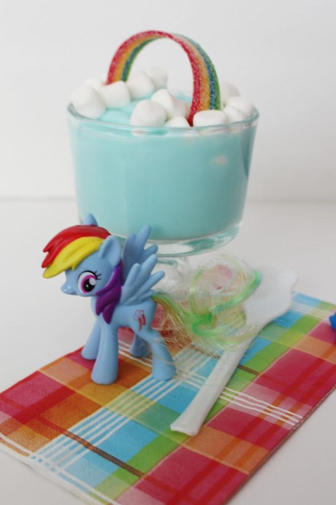 Rainbow-Pudding