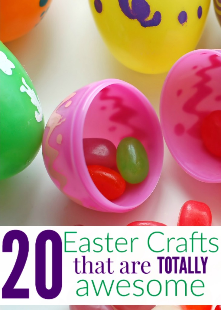 I needed this list of easy Easter crafts - kids, ideas, fun things to do to remember the reason for the season - #20 is AWESOME!!!!