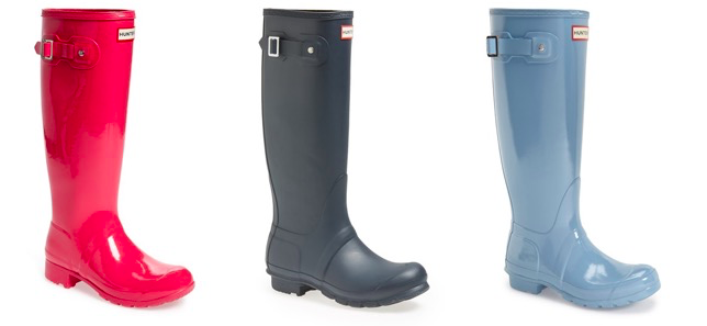 50% Off Hunter Rain Boots  on Sale! -