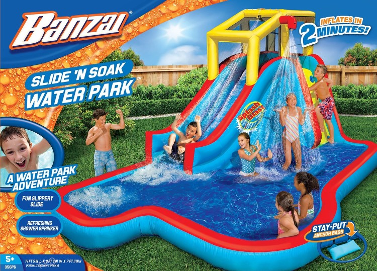 Kohl's.com: Banzai Splash Park Only $242.49 After Kohl's Cash