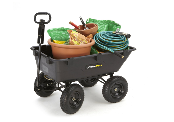 Save $60! Gorilla Carts for Outdoor Work, on Sale!