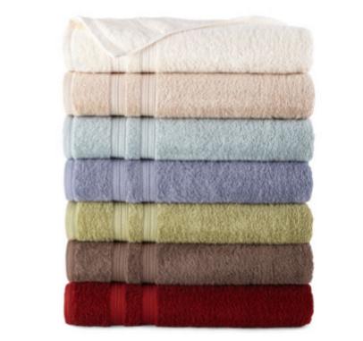 jcpenney bath towels on sale. Black Bedroom Furniture Sets. Home Design Ideas