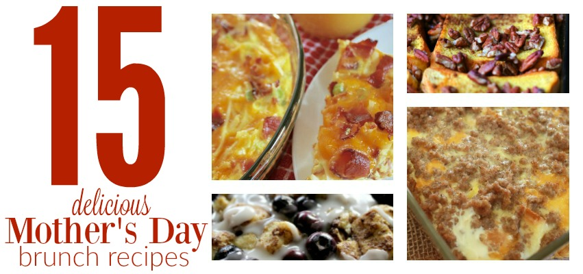 The best Mother's Day Brunch ideas that you can make including breads, egg casseroles, fruit recipes, yogurt recipes and more!