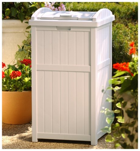 Suncast Outdoor Trash Hideaway at Low Price