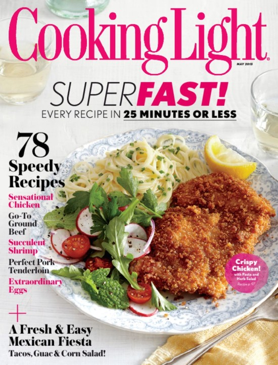 Cooking Light Magazine Subscription ONLY $0.83 Per Issue (Includes Instant Digital Access)