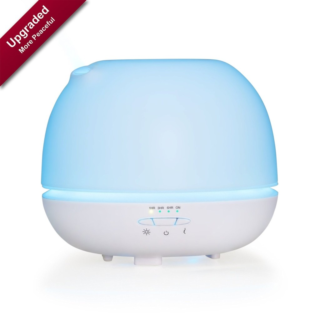 Highly Rated Ultrasonic Aroma Essential Oil Diffuser Less Than $34   #8C0325