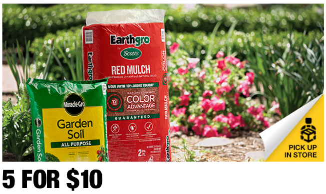 Home Depot Spring Black Friday Sale Ladders Plants Mulch