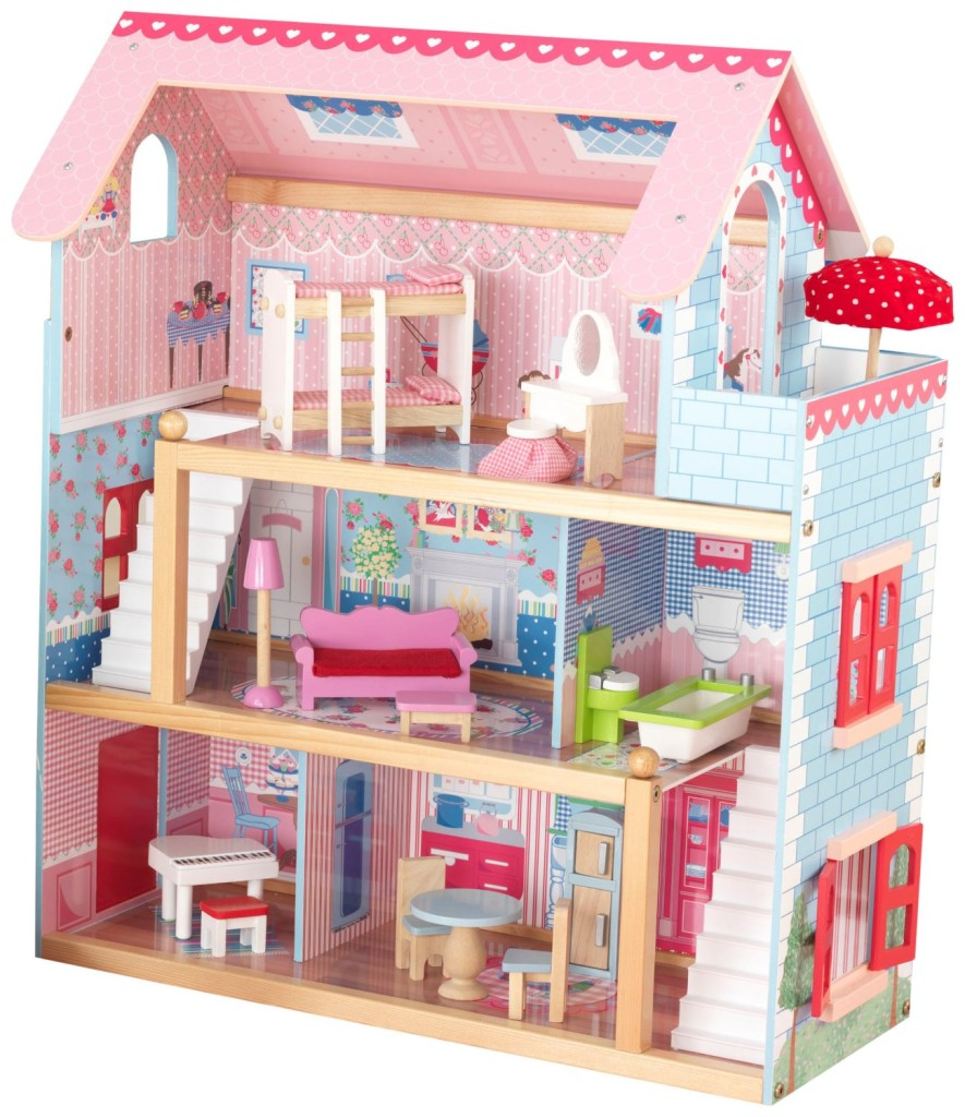 Best Price On Furniture: KidKraft Chelsea Doll Cottage With Furniture At Best Price