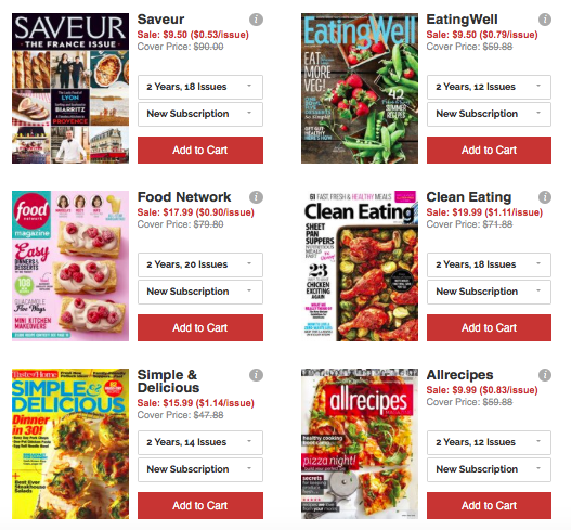 Save BIG on Magazine Subscriptions | Eating Well Magazine, $4.50/Year and MORE!