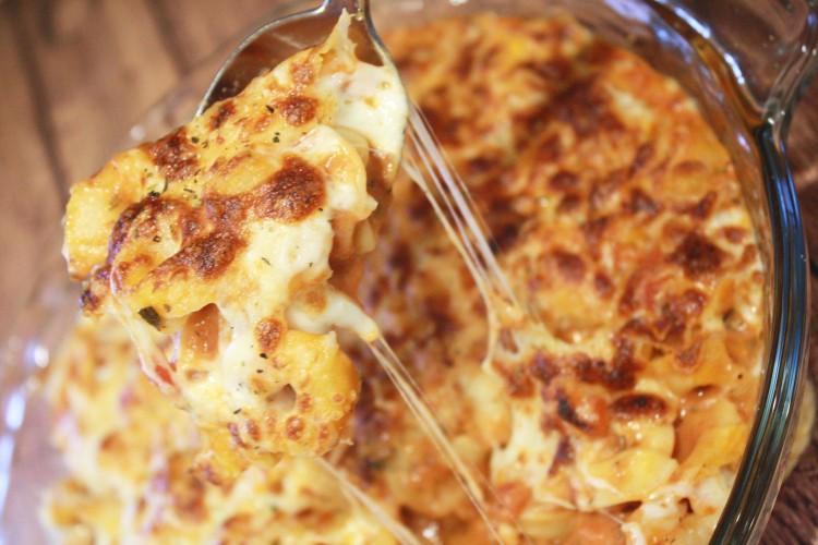 Cheesy Tortellini Casserole Recipe