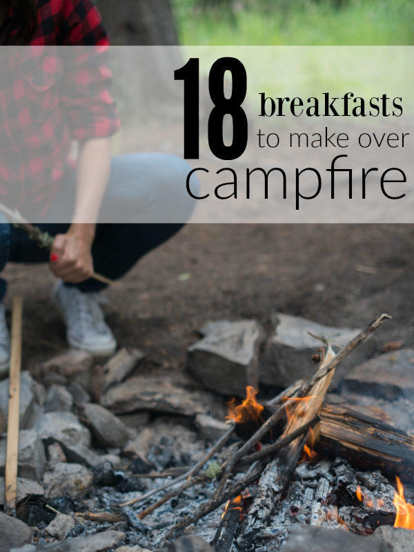 Heading out camping soon? These camping food recipes - breakfast (kids will love!) are so neat! Cinnamon rolls to make while camping and more. Yum!