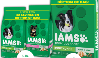 Why we Choose IAMS™ ProActive™ Health Dog Food (+ Savings at Dollar General)