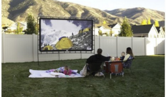 Indoor:Outdoor Movie Screen