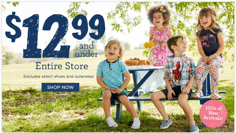 2429112b5 Gymboree: Kids Clothes $12.99 and Under + FREE Shipping on All Orders -