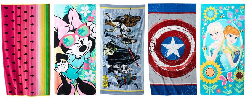 Kohl's: Two Regular or Character Beach Towels Only $6.79 Each (Reg. $29.99!)