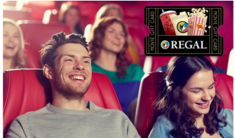 $20 Regal Cinemas eGift Card Only $10